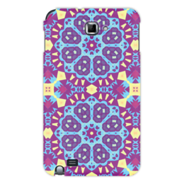 "Чехол для Samsung Galaxy Note ""Echofusion"" - арт, узор, абстракция, фигуры, текстура"