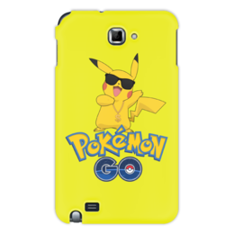 "Чехол для Samsung Galaxy Note ""Pokemon GO"" - игра, покемон, пикачу, доллар, pikachu"