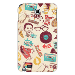 "Чехол для Samsung Galaxy Note ""Ретро"" - ретро"