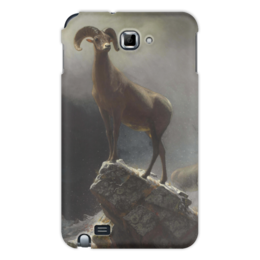 "Чехол для Samsung Galaxy Note ""Толсторог"" - картина, бирштадт"