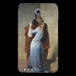 """Чехол для Samsung Galaxy Note """"Поцелуй (Франческо Айец)"""" - картина, поцелуй, айец"""