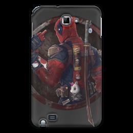 "Чехол для Samsung Galaxy Note ""Дэдпул (Deadpool)"" - комиксы, deadpool, марвел, дэдпул"