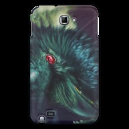 "Чехол для Samsung Galaxy Note ""Ворон"" - аниме, ворон, наруто, шаринган"