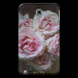 """Чехол для Samsung Galaxy Note """"Glad & Curly """" - цветы, в подарок, оригинально, фотография, розы, авторские чехлы"""