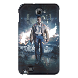 """Чехол для Samsung Galaxy Note """"Звездные войны - Финн"""" - звездные войны, фантастика, кино, дарт вейдер, star wars"""