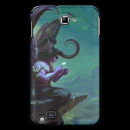 "Чехол для Samsung Galaxy Note ""WarCraft Collection: illidan"" - wow, warcraft, world of warcraft, варкрафт, illidan"