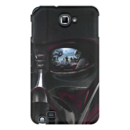 """Чехол для Samsung Galaxy Note """"Звездные войны"""" - кино, фантастика, star wars, звездные войны, дарт вейдер"""