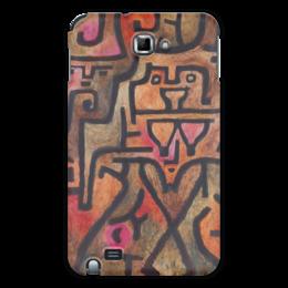 """Чехол для Samsung Galaxy Note """"Лесные ведьмы (Пауль Клее)"""" - картина, живопись, клее"""