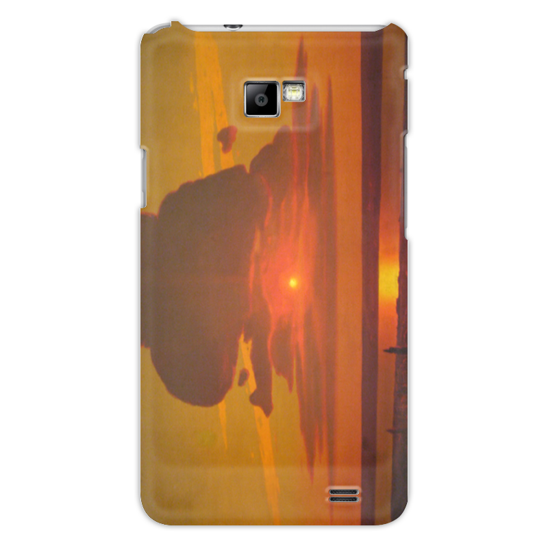 Чехол для Samsung Galaxy S2 Printio Красный закат (картина архипа куинджи) чехол для blackberry z10 printio север картина архипа куинджи