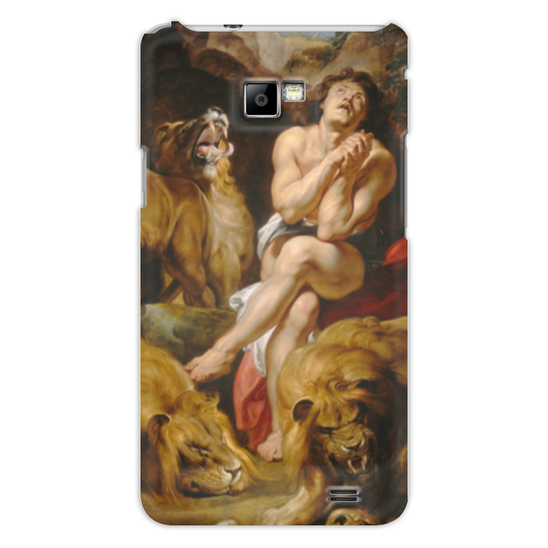 Чехол для Samsung Galaxy S2 Printio Даниил в яме со львами (картина рубенса) национальная галерея искусств вашингтон