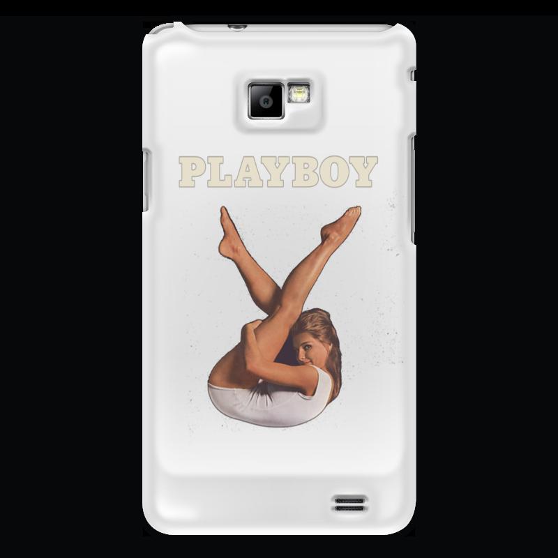 Чехол для Samsung Galaxy S2 Printio Playboy девушка чехол для samsung galaxy s2 printio череп художник