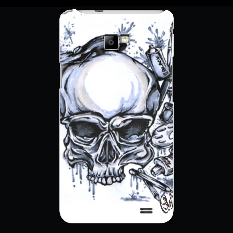Чехол для Samsung Galaxy S2 Printio Череп художник чехол для samsung galaxy s5 printio череп художник