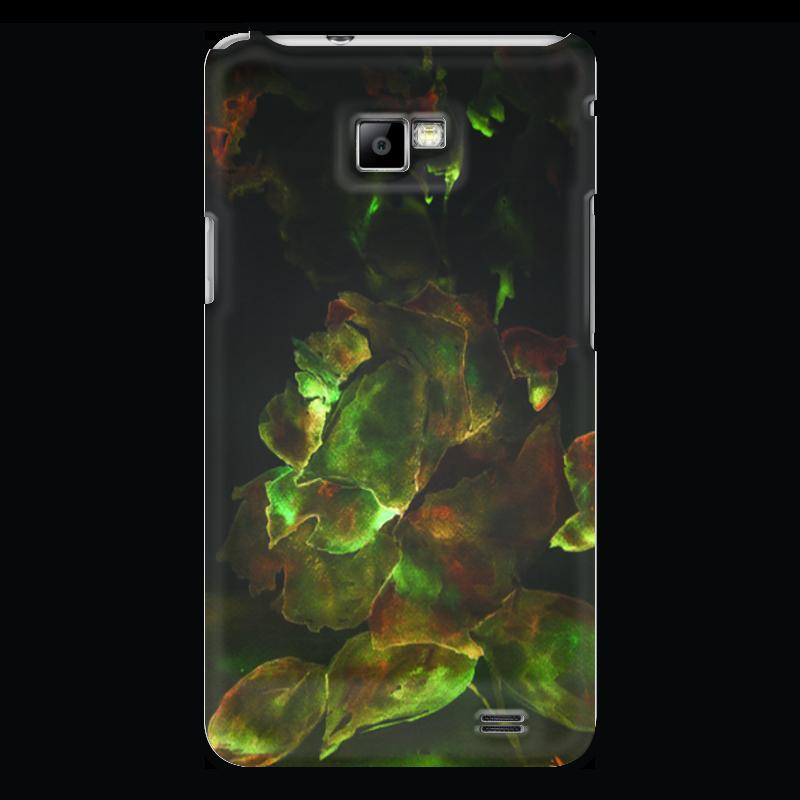 Чехол для Samsung Galaxy S2 Printio Золотая роза пламенная роза тюдоров