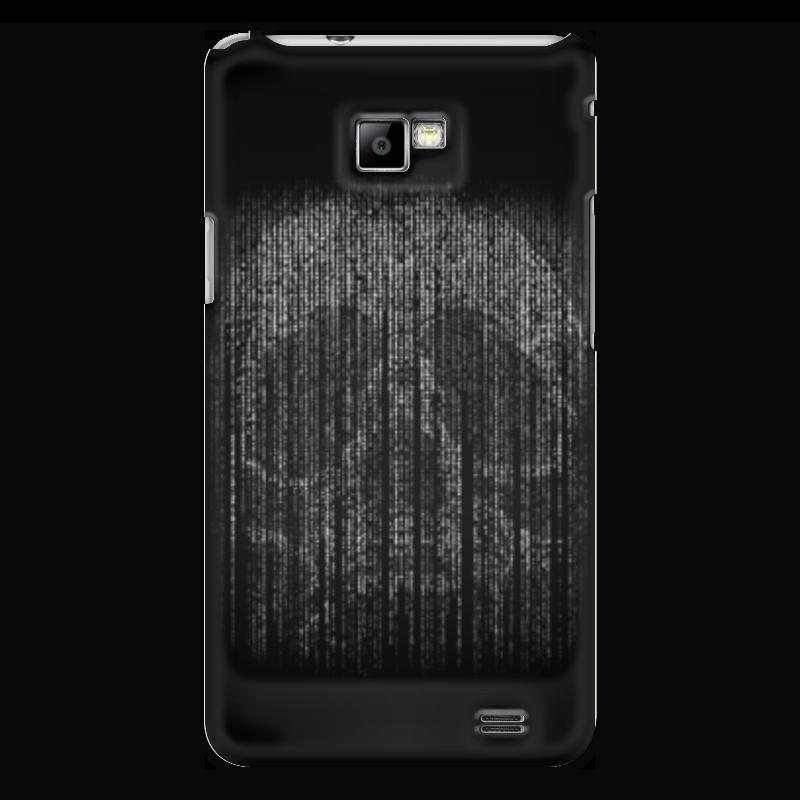 Чехол для Samsung Galaxy S2 Printio Голограмма череп чехол для samsung galaxy s2 printio череп художник
