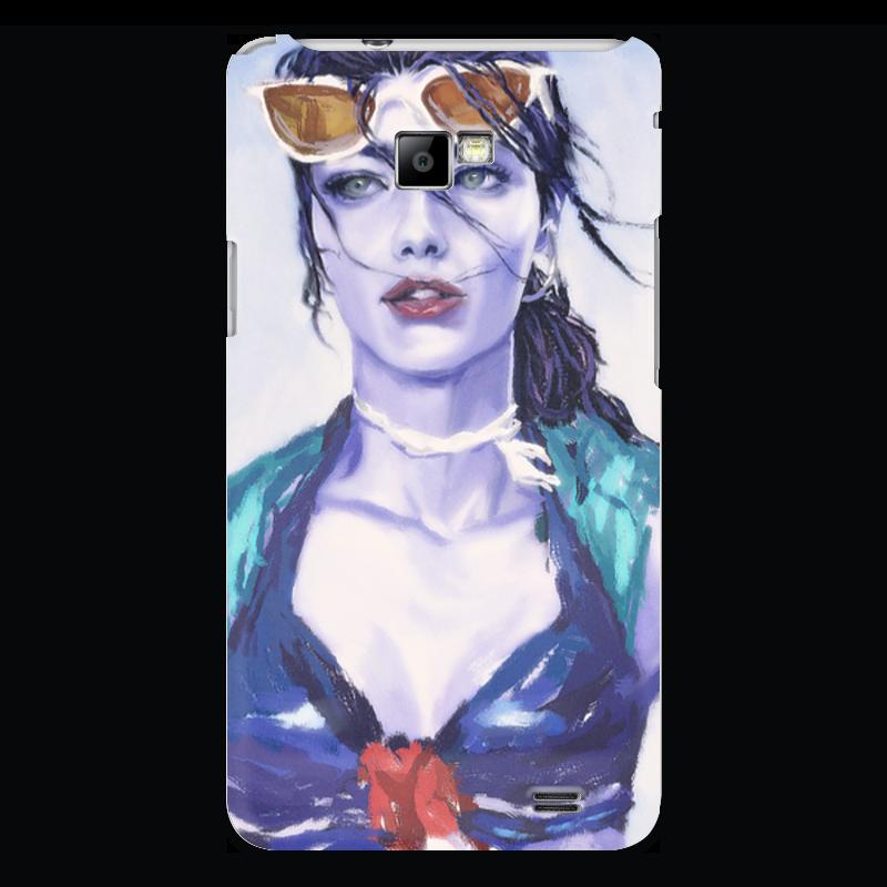 Чехол для Samsung Galaxy S2 Printio Overwatch: widowmaker