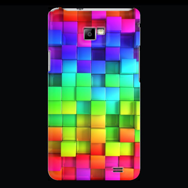 Чехол для Samsung Galaxy S2 Printio Яркие краски чехол для samsung galaxy s2 printio череп художник