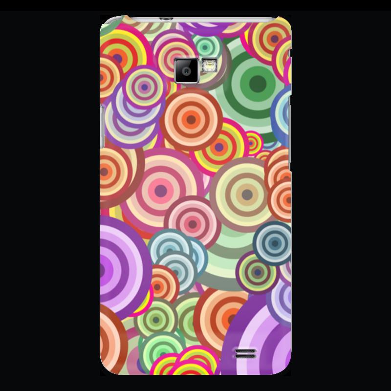 Чехол для Samsung Galaxy S2 Printio Цветные круги чехол для samsung galaxy s2 printio череп художник