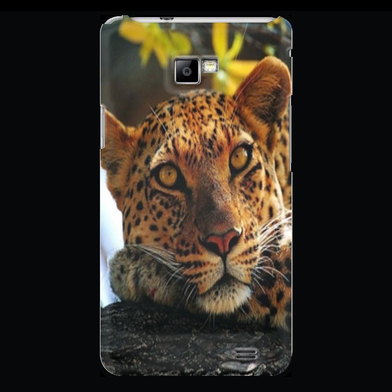 Чехол для Samsung Galaxy S2 Printio Дикая природа дикость о дикая природа берегись