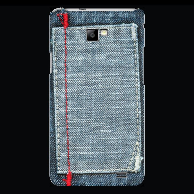 Чехол для Samsung Galaxy S2 Printio Джинса