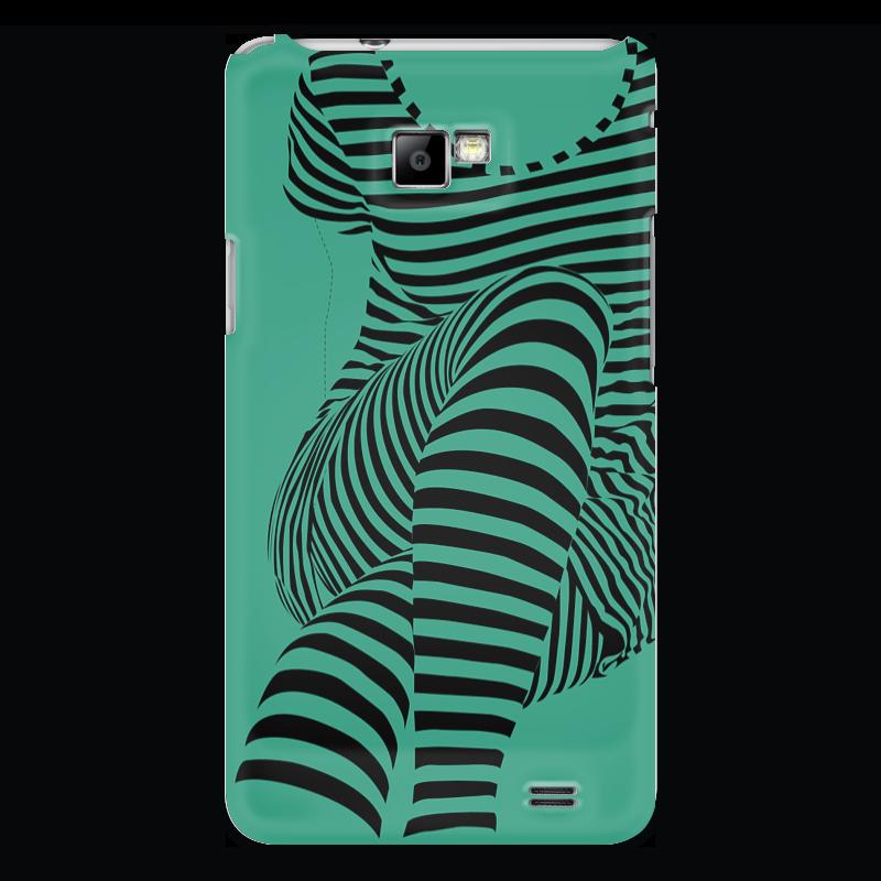 Чехол для Samsung Galaxy S2 Printio раздвоение личности