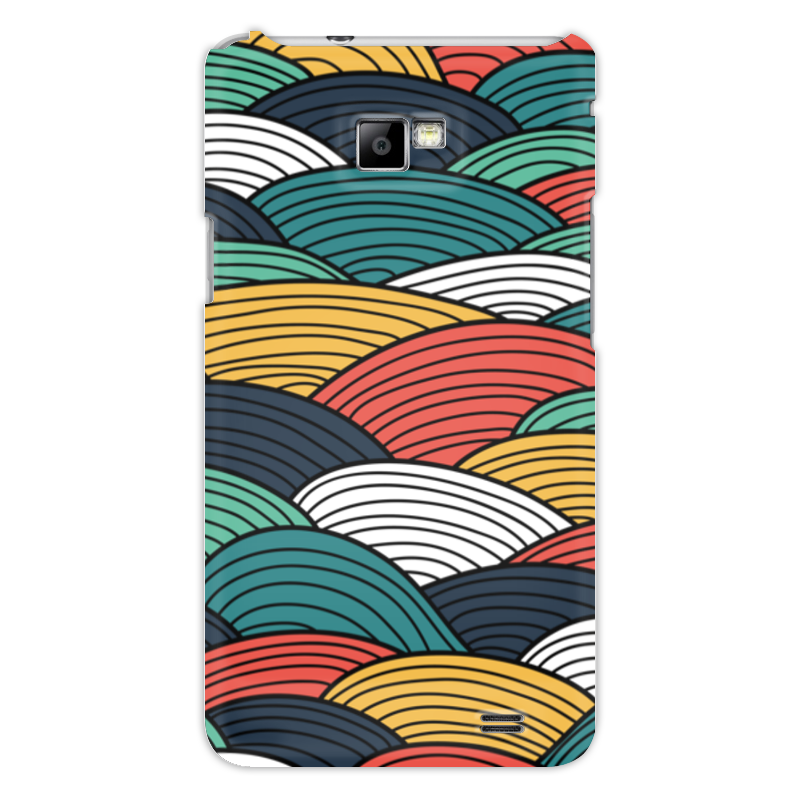 Чехол для Samsung Galaxy S2 Printio Цветные волны
