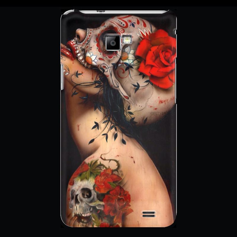 Чехол для Samsung Galaxy S2 Printio Tattoo чехол для samsung galaxy s2 printio череп художник