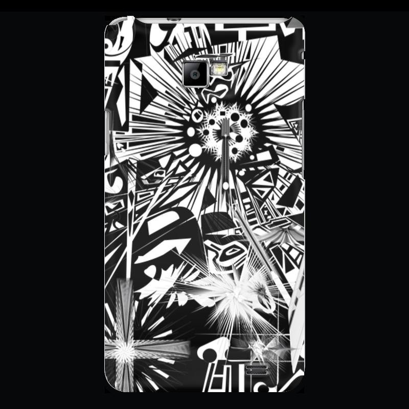 Чехол для Samsung Galaxy S2 Printio С яблоком чехол для samsung galaxy s2 printio череп художник