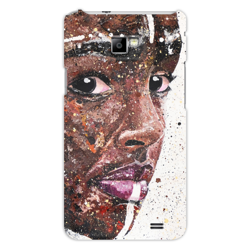 Чехол для Samsung Galaxy S2 Printio Эфиопка серова м вся прелесть стриптиза