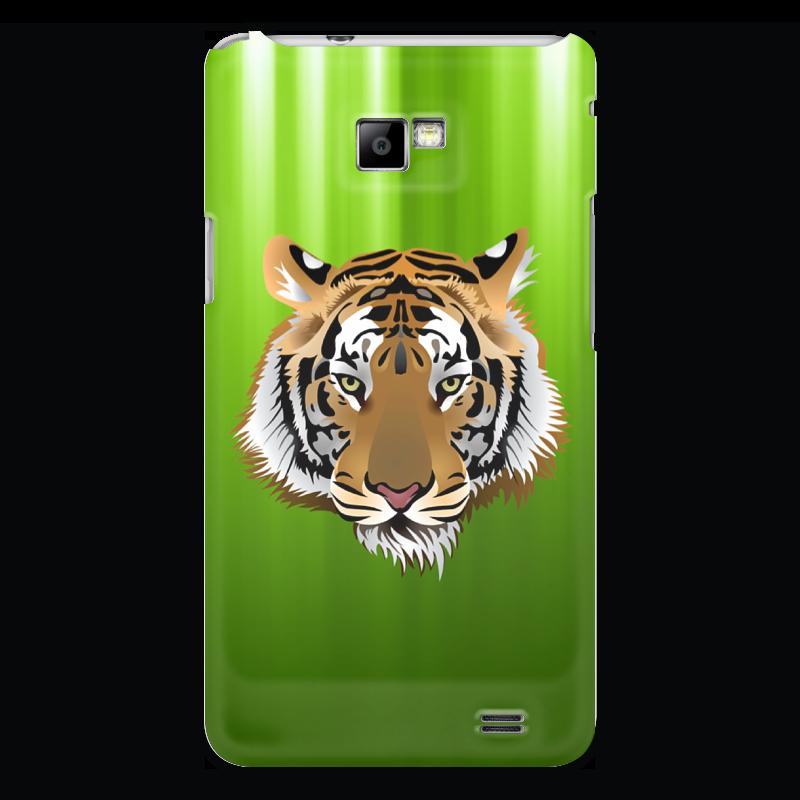 Чехол для Samsung Galaxy S2 Printio Взгляд тигра чехол для samsung galaxy s5 printio тигра