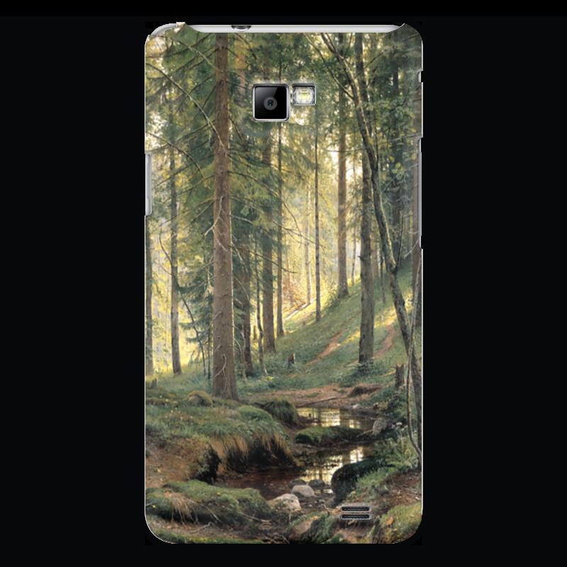 Чехол для Samsung Galaxy S2 Printio Ручей в лесу новый русский базар 1869 1898