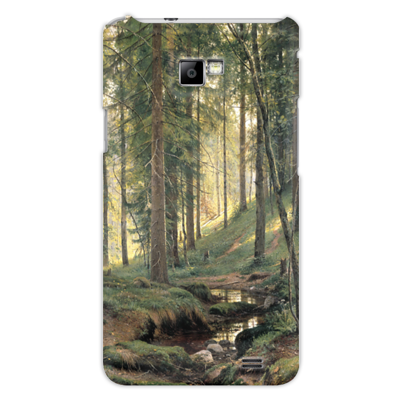 Чехол для Samsung Galaxy S2 Printio Ручей в лесу чехол для samsung galaxy s2 printio череп художник