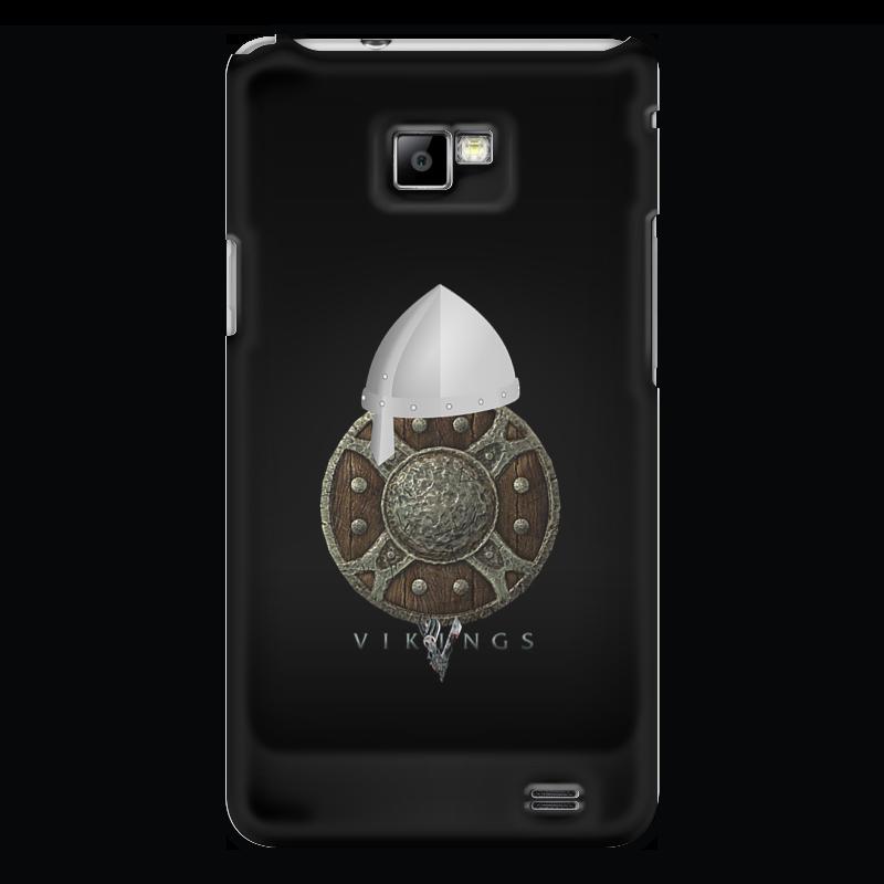 Чехол для Samsung Galaxy S2 Printio Викинги. vikings чехол для samsung galaxy s2 printio череп художник