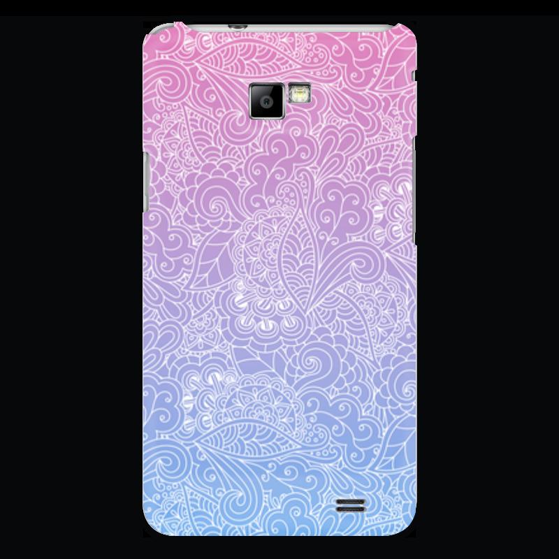 Чехол для Samsung Galaxy S2 Printio Градиентный узор чехол для samsung galaxy s2 printio череп художник
