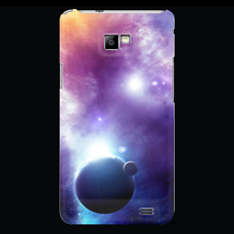 Чехол для Samsung Galaxy S2 Printio Universe увлекательный космос для самых маленьких