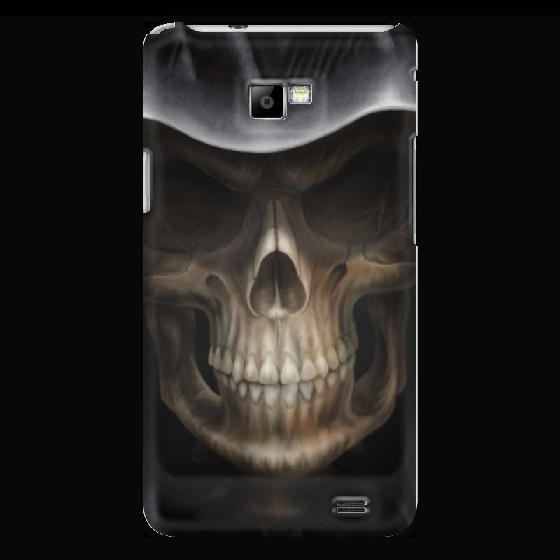 Чехол для Samsung Galaxy S2 Printio Череп в капюшоне чехол для samsung galaxy s2 printio череп художник