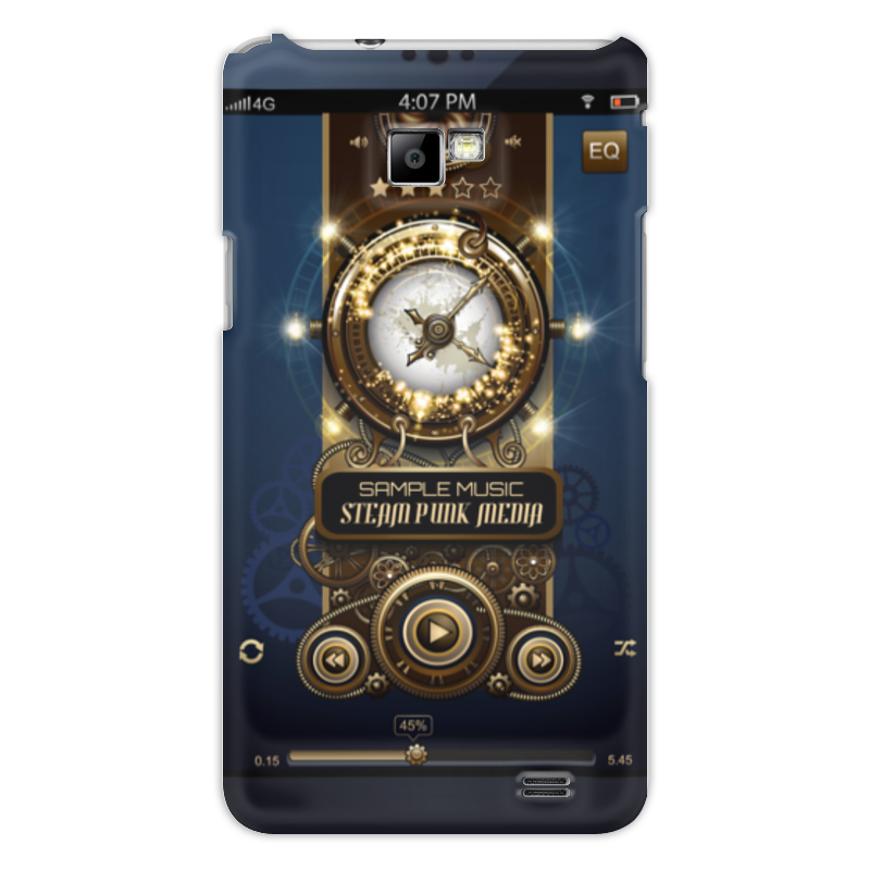 Чехол для Samsung Galaxy S2 Printio Стимпанк-музыка чехол для samsung galaxy s5 printio стимпанк голова