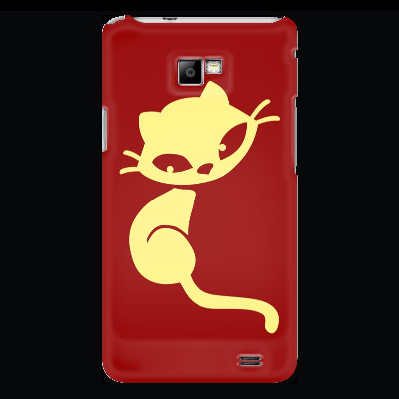 Чехол для Samsung Galaxy S2 Printio Кошечка статуэтка кошечка для хранения колец