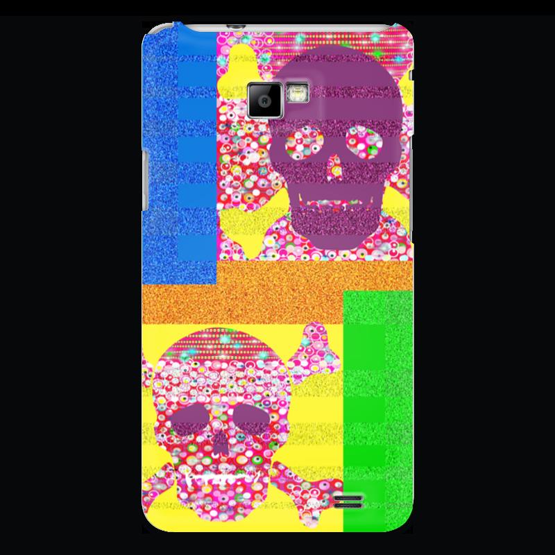 Чехол для Samsung Galaxy S2 Printio Золотой песок