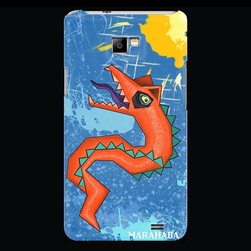 Чехол для Samsung Galaxy S2 Printio Красный дракон огнезащитная краска вуп 2 в новосибирске