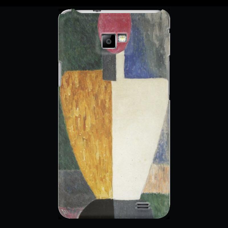 Чехол для Samsung Galaxy S2 Printio Торс (фигура с розовым лицом) (малевич) чехол для samsung galaxy s2 printio череп художник