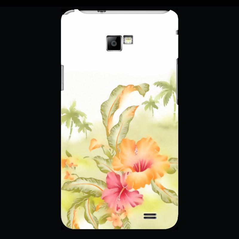 Чехол для Samsung Galaxy S2 Printio Тропические цветы, пальмы. купить горшок для пальмы большой