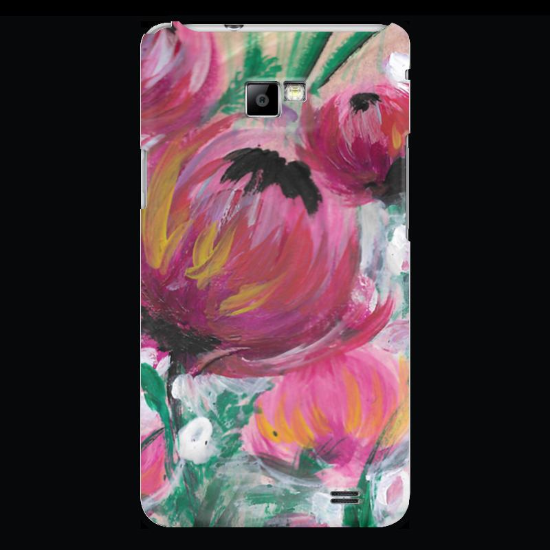 Чехол для Samsung Galaxy S2 Printio Полевые цветы st баллон для автоматического освежителя воздуха полевые цветы 39 мл