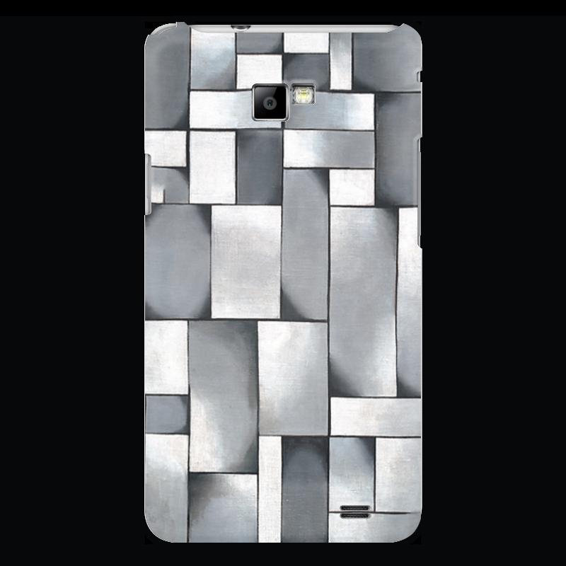 Чехол для Samsung Galaxy S2 Printio Композиция в сером чехол для samsung galaxy s2 printio череп художник
