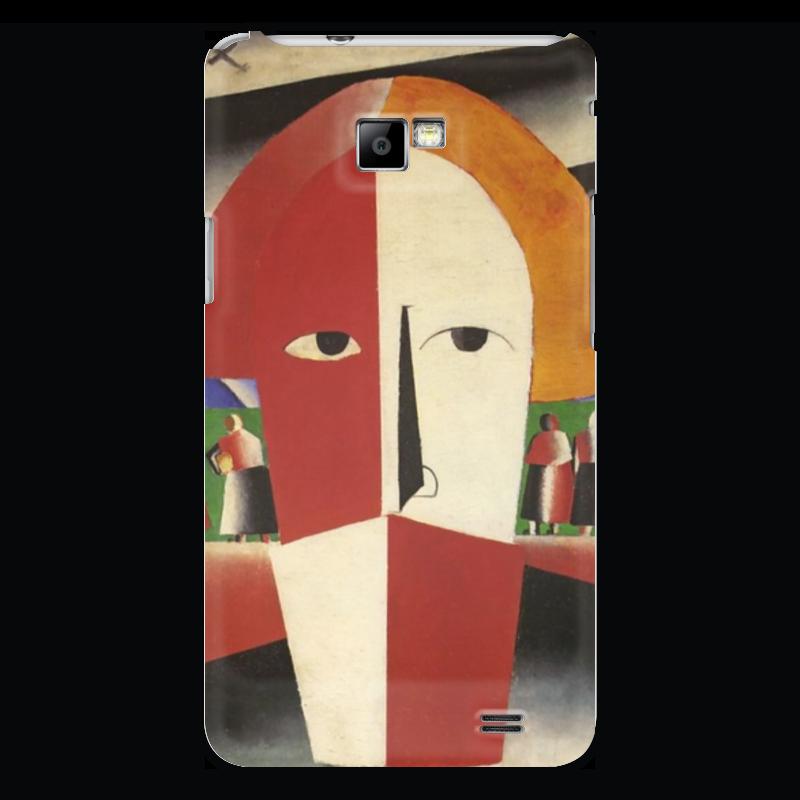 Чехол для Samsung Galaxy S2 Printio Голова крестьянина (казимир малевич) чехол для samsung galaxy s2 printio череп художник