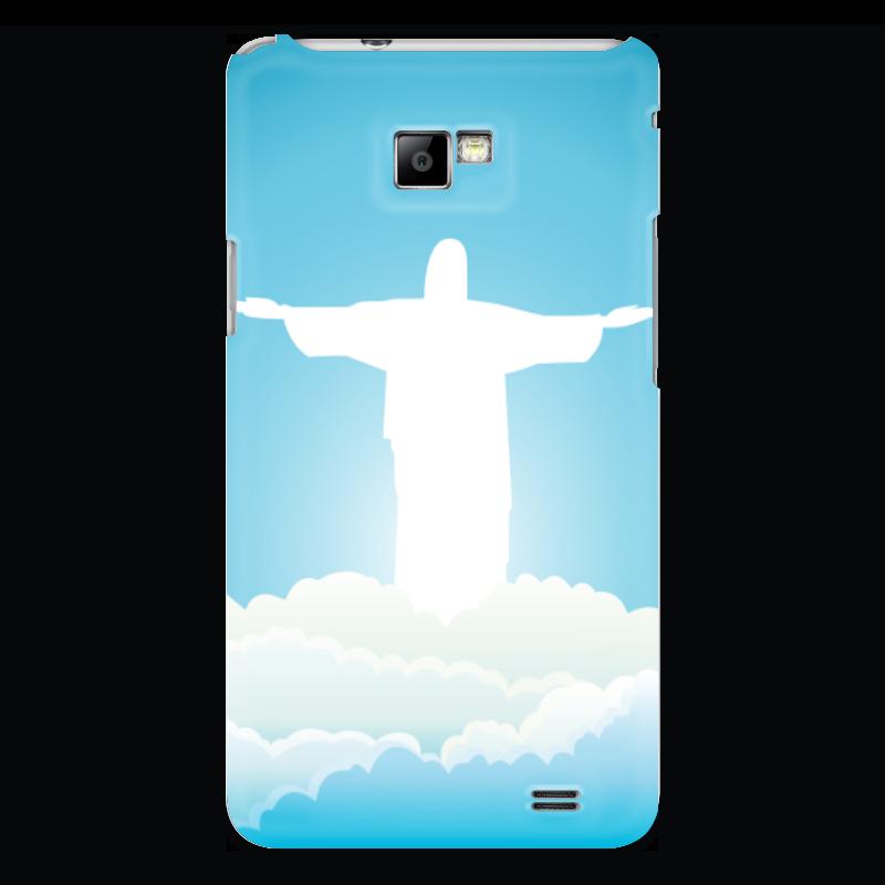 Чехол для Samsung Galaxy S2 Printio Иисус христос вышивка бисером молящийся христос