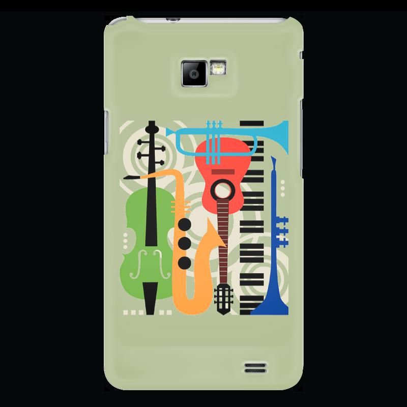 Чехол для Samsung Galaxy S2 Printio Музыкальные инструменты музыкальные инструменты для детей в н новгороде
