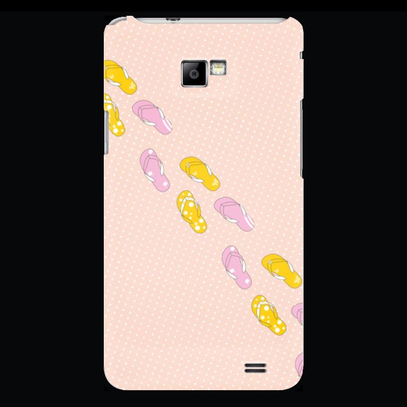 Чехол для Samsung Galaxy S2 Printio Сланцы сланцы puma