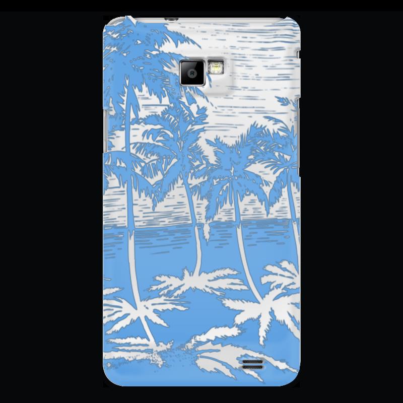 Чехол для Samsung Galaxy S2 Printio Пальмы купить горшок для пальмы большой