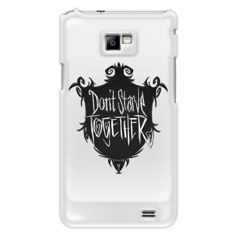Чехол для Samsung Galaxy S2 Printio Don't starve together
