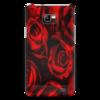 "Чехол для Samsung Galaxy S2 ""Алые розы"" - арт, розы"